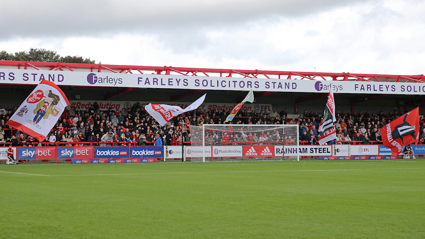 Coach travel for Salford proving popular with fans - News - Accrington  Stanley